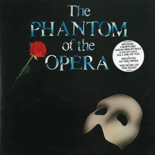 ANDREW LLOYD WEBBER The Phantom Of The Opera Vinyl Record LP Polydor 1987